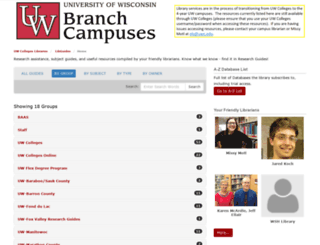 libguides.uwc.edu screenshot