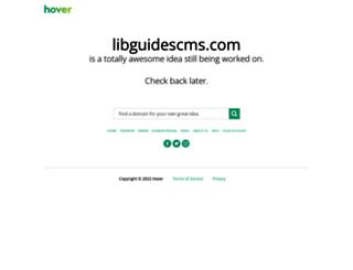libguidescms.com screenshot