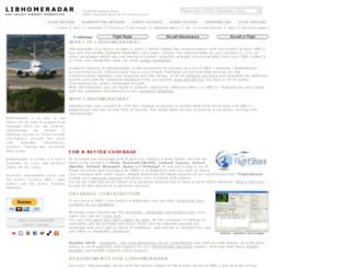 libhomeradar.org screenshot