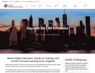 libi.edu screenshot