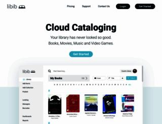 libib.com screenshot