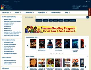 libpac.leegov.com screenshot
