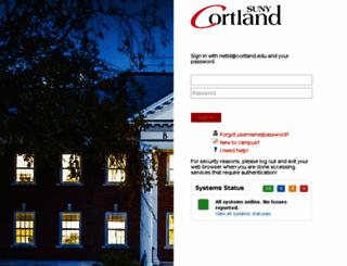 libproxy.cortland.edu screenshot