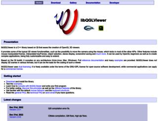libqglviewer.com screenshot
