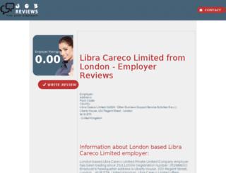 libra-careco-limited.job-reviews.co.uk screenshot