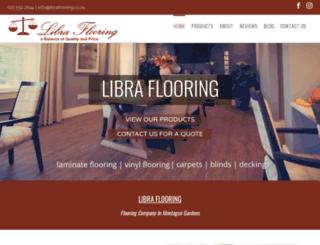 libraflooring.co.za screenshot
