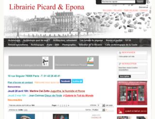 librairie-epona.fr screenshot