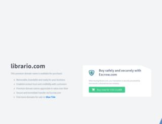 librario.com screenshot