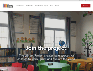 library-project.org screenshot
