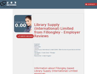 library-supply-international-limited.job-reviews.co.uk screenshot