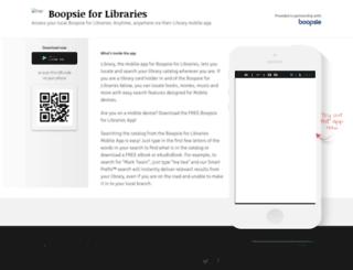library.boopsie.com screenshot