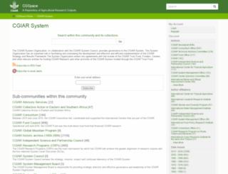 library.cgiar.org screenshot