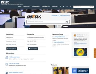 library.chattanoogastate.edu screenshot
