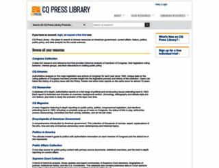 library.cqpress.com screenshot