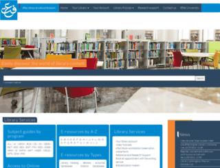 library.effatuniversity.edu.sa screenshot