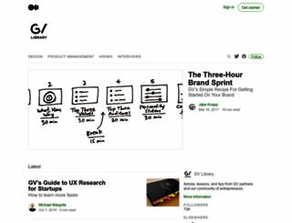 library.gv.com screenshot