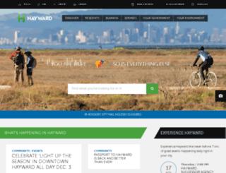 library.hayward-ca.gov screenshot