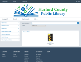 library.hcplonline.org screenshot
