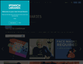 library.ipswich.qld.gov.au screenshot