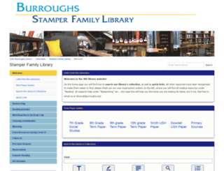 library.jburroughs.org screenshot