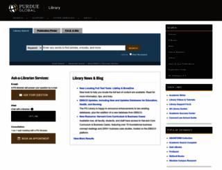library.kaplan.edu screenshot