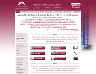 library.mchs.com screenshot
