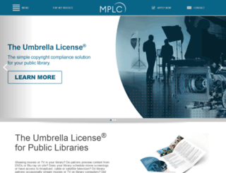 library.mplc.org screenshot