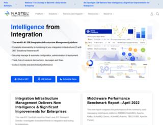 library.nastel.com screenshot