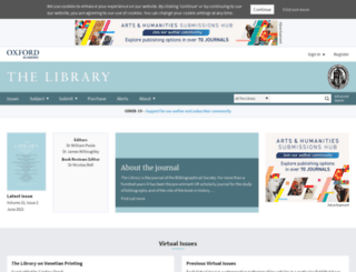 library.oxfordjournals.org screenshot