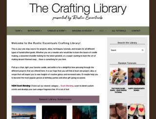 library.rusticescentuals.com screenshot