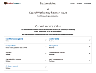 library.stanford.edu screenshot