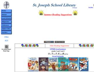library.stjosephsea.org screenshot