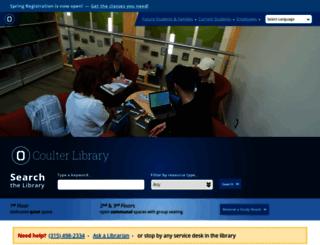 library.sunyocc.edu screenshot