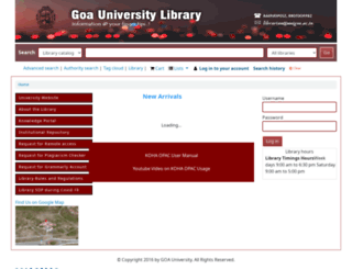 library.unigoa.ac.in screenshot