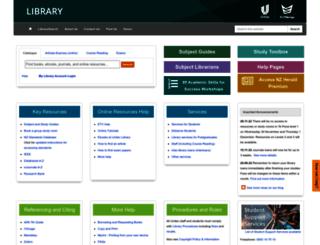 library.unitec.ac.nz screenshot
