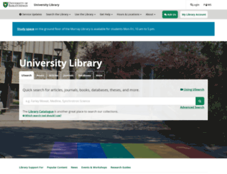 library.usask.ca screenshot