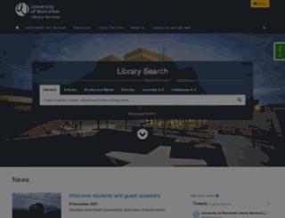 library.worc.ac.uk screenshot