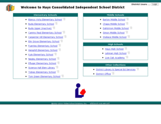 library1.hayscisd.net screenshot
