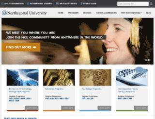 library2.ncu.edu screenshot