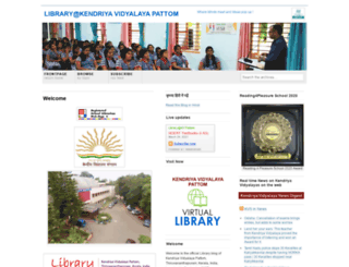 librarykvpattom.wordpress.com screenshot