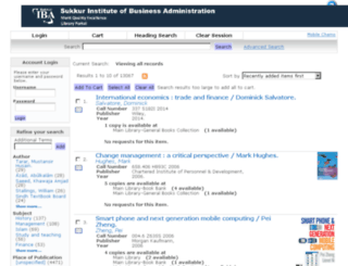 libraryportal.iba-suk.edu.pk screenshot