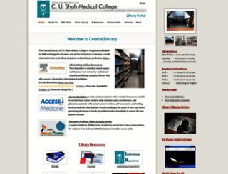 libraryportalcusmc.webs.com screenshot