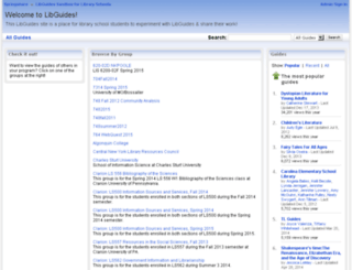 libraryschool.libguidescms.com screenshot