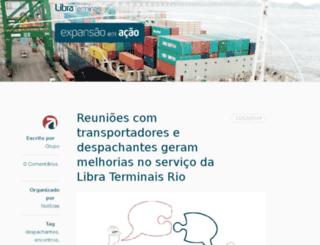 libraterminaisrio.com.br screenshot