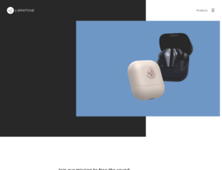 libratone.com screenshot