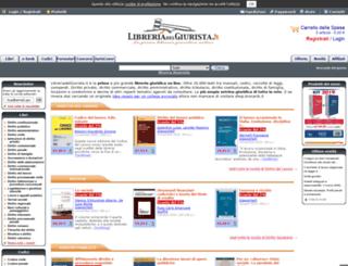 libreriadelgiurista.it screenshot