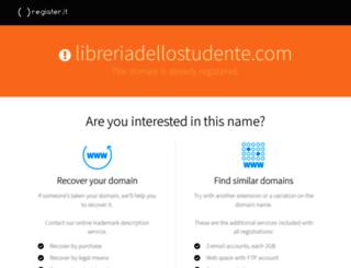 libreriadellostudente.com screenshot