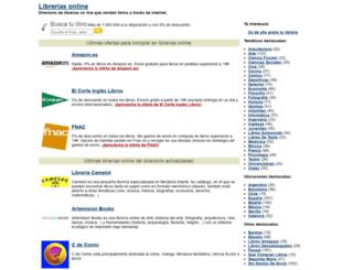 libreriasonline.org screenshot