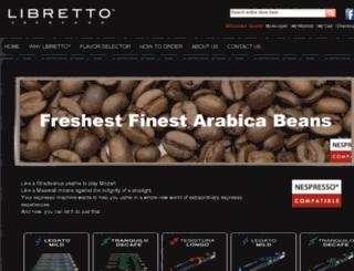 librettoespresso.com screenshot
