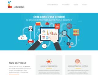 libricks.fr screenshot